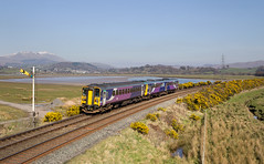 Gorse Enhanced Approaches. (Dave McDigital) Tags: northern trains 2c30 duddon 153307 142027 153 142 pacer gorse