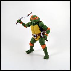 1 Year In A Toybox 3, 101_365 - Michelangelo (Corey's Toybox) Tags: tmnt teenagemutantninjaturtles ninjaturtles shfiguarts actionfigure figure toy michelangelo 1yearinatoybox3