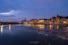Stockholm Night. (bgfotologue) Tags: 城市 2017 500px a72 bgphoto cpl church city cityscape current dawn europe evening floating freeze glow ice image imaging landscape lights night north outdoor photo photography polarizer sony stockholm sunset sweden tourist travel tumblr twilight winter bellphoto 偏光鏡 冬 冰 出 北歐 夜 夜景 攝影 教堂 斯德哥爾摩 旅行 旅遊 歐洲 水流 流冰 浮冰 瑞典 都市 風光 風景