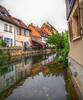 Réflexion dans les eaux du canal de Colmar. Alsace (Co-jjack) Tags: colmar alsace village ville colombage maison balade barque maisoncolombage réflexion hdrenfrancais hdrsingleraw