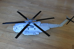CH-53 Sea Stallion (brick_builder7) Tags: lego helicopter heli landing land gear prop propeller wind grey light military army air force marines usmc us usaf ch53 ch 53 sea stallion seastallion sikorsky