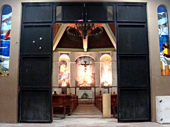 Behind the Doors of the Almighty (knightbefore_99) Tags: church almighty rincon guayabitos mexico mexican nayarit cool pray door steel awesome night beyond light catholicism religion art