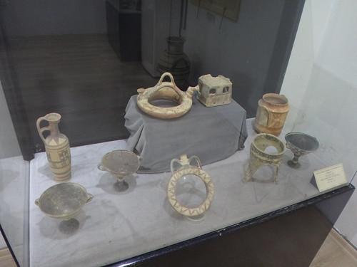 Monasterio de San Bernabé. Objetos del museo arqueológico. Salamis. Chipre