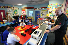 Car Safety at Yarnfield Primary Schoo