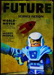 The Future (LegoKlyph) Tags: lego custom scifi retro raypunk space pulp future fiction rockets raygun ray gun