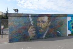 Van Gogh street art @ Les Jardins d'Éole @ Paris (*_*) Tags: paris france europe city spring 2017 april lesjardinsdéole park streetart vangogh art