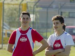 Matteo Nastase e Nicola Marchegiani