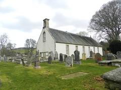 Edinkillie Parish Church, Morayshire, April 2017 (allanmaciver) Tags: edinkillie parish church moray morayshire trees gravestones cemetry bell history remote isolated forres grantown slab allanmaciver