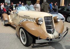 Auburn Speedster Replica (Schwanzus_Longus) Tags: german germany us usa america american old classic vintage car vehicle roadster cabrio cabriolet convertible replica auburn speedster techno classica essen