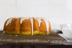 When life gives you lemons... (Photo Oleo) Tags: icing lemon home cake dessert glaze food kitchen