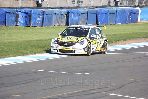 Tom Chilton during qualifying during the BTCC Weekend at Donington Park 2017: Saturday, 15th April