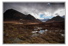 Buachaille Etive Mor, Scotland. (Gregg Cashmore) Tags: scotland canon greggsphotography landscape sigma view grass sky clouds cottage blackrock marsh land greggcashmore photography colour sun atmosphere mood north highlands mountain exposure frame picture water moor rannock