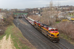 Military Flats (sully7302) Tags: kansas city southern csx kcs jersey new northern branch cp marion nj transit west end belle dodx military train transport railway railroad emd sd70ace