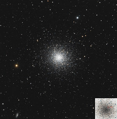 Globular clusters in Hercules: M13 (Remote, NM) (john.purvis) Tags: astrophotography messierobjects m13 globularcluster