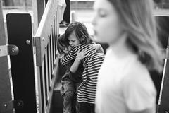 105| 365 (trois petits oiseaux) Tags: 365 documentary love hug twins sisters