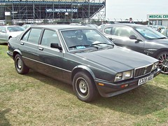 368 Maserati Bi Turbo 420i (1987) (robertknight16) Tags: maserati italy italian 1980s biturbo gandini andreani italiantax silverstone e328aku