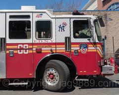 "FDNY ""Bronx Bombers"" Engine Fire Truck 68 near Yankee Stadium, The Bronx, New York City (jag9889) Tags: 2017 20170423 al allamericacity americanleague apparatus ballpark baseball baseballteam bombers bravest bronx engine fdny firedepartment firedepartmentofthecityofnewyork firedivision firetruck firefighter firstresponder gerardavenue kme kmefireapparatus kovach majorleaguebaseball ny nyyankees nyc nyy newyankeestadium newyork newyorkcity newyorkcityfiredepartment newyorkyankees newyorksbravest outdoor pinstripes pumpertruck southbronx stadium thebronx thebronxbombers theyanks truck usa unitedstates unitedstatesofamerica vehicle yankeestadium yankeestadiumiii yankees e068e jag9889"