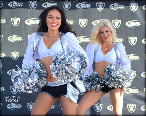 2015 Oakland Raiderettes Marcy & Summer