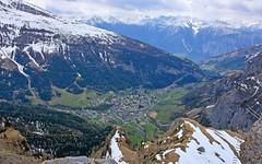 Loèche les bains (Diegojack) Tags: leukerbad valais suisse paysages montagnes téléphérique gemmi loèchelesbains