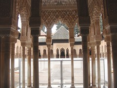 Court of the Lions - Alhambra (Rckr88) Tags: court lions alhambra courtyard courtofthelions granada spain travel travelling europe ancient relic relics islamic architecture arch arches column columns
