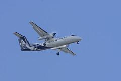 Air New Zealand Link Bombardier Q300 ZK-NET NZ8234 WLG->ROT app ROT (XPinger (Chris Sutton)) Tags: civilaircraft airnewzealandlink bombardier q300 rotorua airliner topazremask