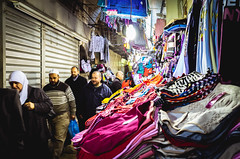 02.2014 | Jerusalem, Israel (Sabine Scheller) Tags: street travel people color shop photography israel muslim jerusalem arabic clothes souk quarter gr ricoh 18mm 2014 sabinescheller