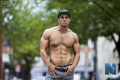 Oliver Russell fitness model. (TerryGeorge.) Tags: men beautiful george healthy natural muscle models leeds ab hunk terry workout fitness abs sixpack