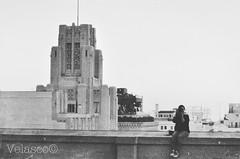 LA girl (FVelasco) Tags: portrait blackandwhite bw rooftop photo losangeles nikon raw