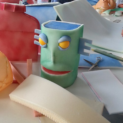 another day teaching how to create #sponge #puppet / #envide #mtm