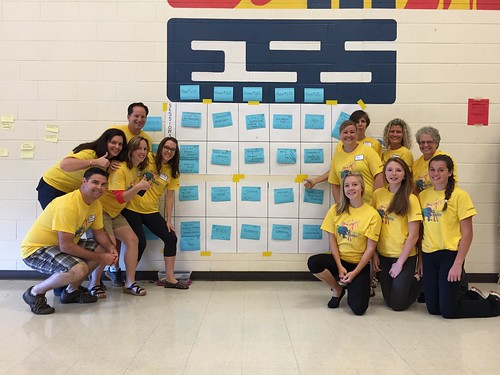 The Facilitating Team at #edCampBarrie 2014