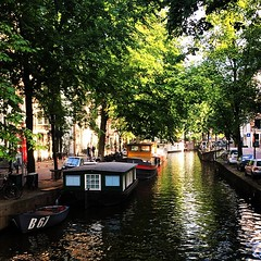 Amsterdam Raamgracht #Amsterdam #city #water #canel (JustusFelthuis) Tags: amsterdam boat canal canalboat gracht woonboot