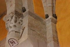 Eglise Notre-Dame  Dnat (kristobalite) Tags: nef roman arc  glise romans clocher bris  abside romane chapiteau romanesqueart romanisch romanik romanes romanesquearchitecture arteromanica artroman architetturaromanica absidiole fortifie architectureromane romanischearchitektur romanischekunst arquitecturaromanica arcatures collatral lombardes croise dogives