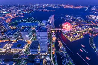 Twilight Sky Cruise, Yokohama Harbor