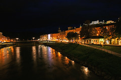 Night in Salzburg (Andrey Sulitskiy) Tags: salzburg austria