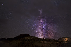 Hidden (Willis.La) Tags: mountains night way stars photography long exposure milky ouray