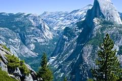 Half Dome above Yosemite Valley (Andy Burton Oz) Tags: california ca usa mountains yosemite granite halfdome yosemitenationalpark sierranevada yosemitevalley 2014 mariposacounty granitedome andyburton afsdxvrzoomnikkor1855mmf3556g nikond7000 aperture351 burtonandy flickrexport412