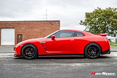 """RAYS 57FXX Gramlights - Nissan GT-R • <a style=""""font-size:0.8em;"""" href=""""http://www.flickr.com/photos/64399356@N08/15227689900/"""" target=""""_blank"""">View on Flickr</a>"""