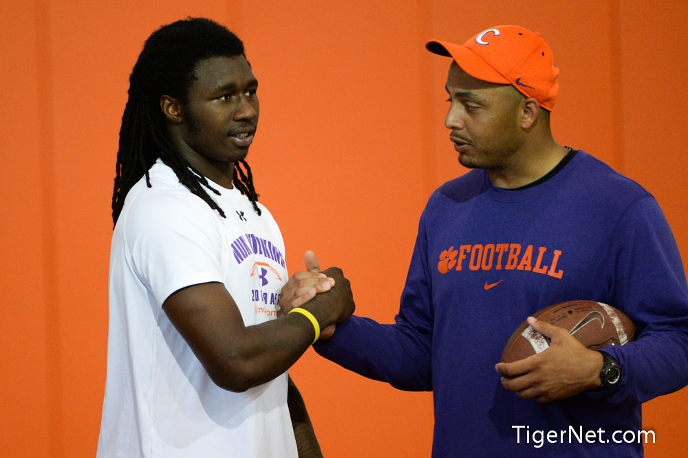 Clemson Photos: 2013, Dabo  Swinney  Camp, Football, Recruiting, Sammy  Watkins, Tony  Elliott
