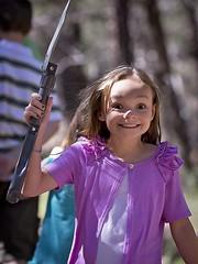 I've Got the Shovel! (azphotomom37) Tags: family arizona girl canon happy daughter excited shovel 70200mm diamondpoint arizonadiamonds
