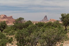 Utah Landscape (Visual Coyote) Tags: usa utah butte desert monumentvalley 2014 drivebyshot usa2014 timezonemt