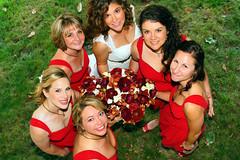 Bride and bridesmaids (Kai Eiselein) Tags: ladies girls bride washington women sony marriage tokina bridesmaids alpha overhead weddding amount a77 clarkston 2440