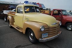 1947 Chevrolet Pick-Up (DVS1mn) Tags: cars chevrolet gm bowtie chevy carshow rednecks hotrods generalmotors longnecks rollies