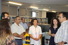 17/09/2014 Ο νέος Δήμαρχος της Βέροιας στη Δημόσια Βιβλιοθήκη