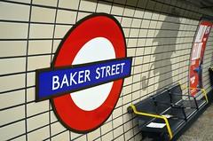 Baker Street Station (jpellgen) Tags: uk travel summer england london train underground subway nikon europe european unitedkingdom tube august british sherlockholmes bakerstreet tamron 2014 18200mm d5100