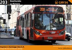 203 | Huechuraba - La Pintana (Mr. Mobitec) Tags: chile santiago bus buses express publictransport 203 scania transporte marcopolo santiagodechile transantiago transportepúblico santiagocentro granviale expressdesantiagouno marcopologranviale subuschile expressdesantiago scaniak230 k230 serviciosdeapoyo
