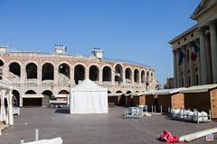 Piazza Bra Arena (philippe.romeo01) Tags: italy italia verona italie verone piazzabra veronaarena palazzobarbieri granguardia theboardroom italianpiazza