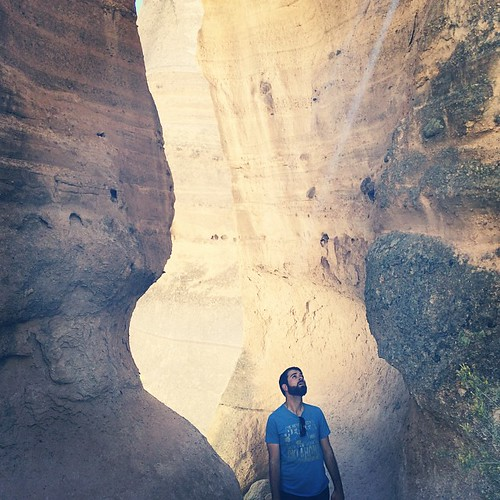 Ray of Light #canyoning #TentRocks #NewMexico