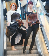 2014-03-15 S9 JB 73948#coht20s40 (cosplay shooter) Tags: x201610 400x kaylean airay id084569 id532562 cosplay cosplayer anime manga comic comics lbm leipzig leipzigerbuchmesse roleplay rollenspiel 2014090 2014091 201431 steampunk lene ina
