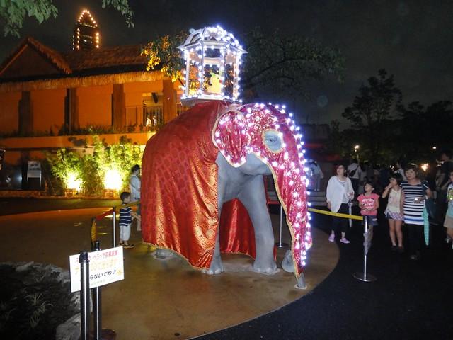 ゾージアムの象にびっくり!|名古屋市東山動植物園