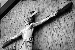 39 - Beyond reach (ethnosax) Tags: church town christ cross jesus carving christian carve altar figure crucifix fiberglass papuanewguinea representation anglican goodfriday fibreglass madang holytrinityanglicanchurch
